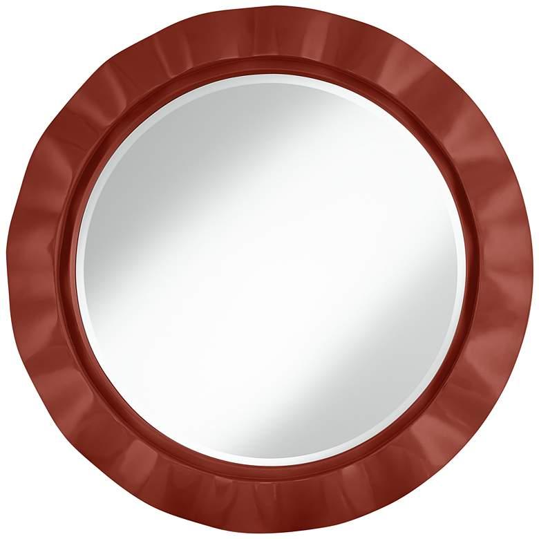 "Madeira 32"" Round Brezza Wall Mirror"