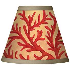Red Clip On Chandelier Lamp Shades Lamps Plus