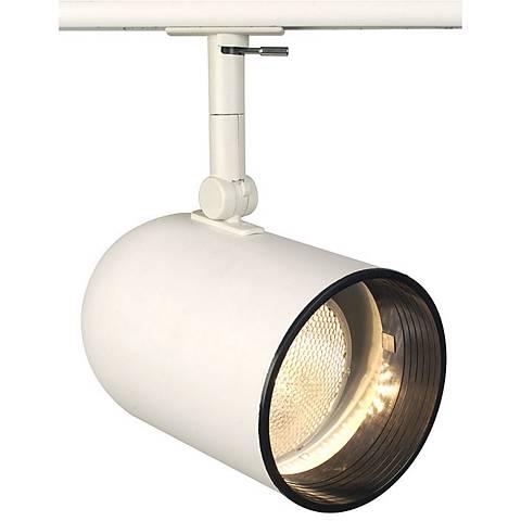 Lightolier White Par 30 Round Back Cylinder Track Head - #26044 ...