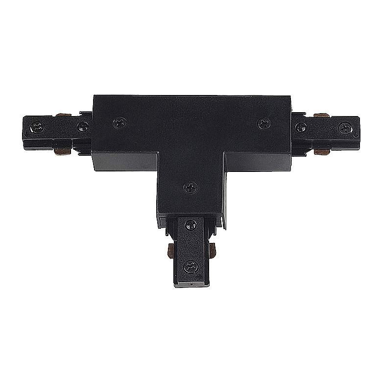 Juno Black Finish T-Shaped Connector