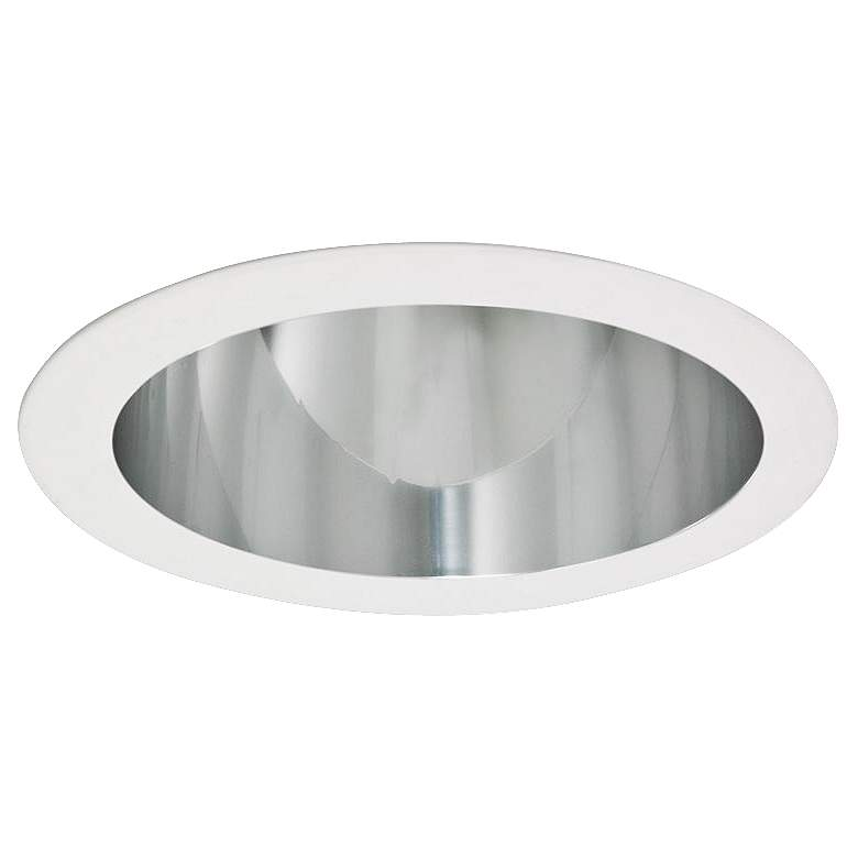 """Intense 4"""" CFL Clear Recessed Lighting Reflector Trim"""