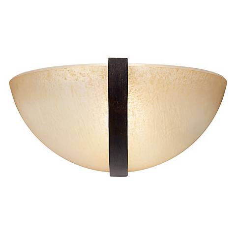 "Raiden 6"" High Oxide Iron Wall Sconce"