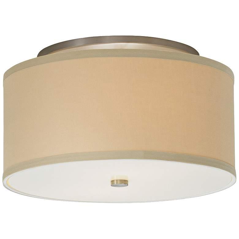"Tech Lighting Mulberry 13"" Wide Desert Drum Ceiling Light"
