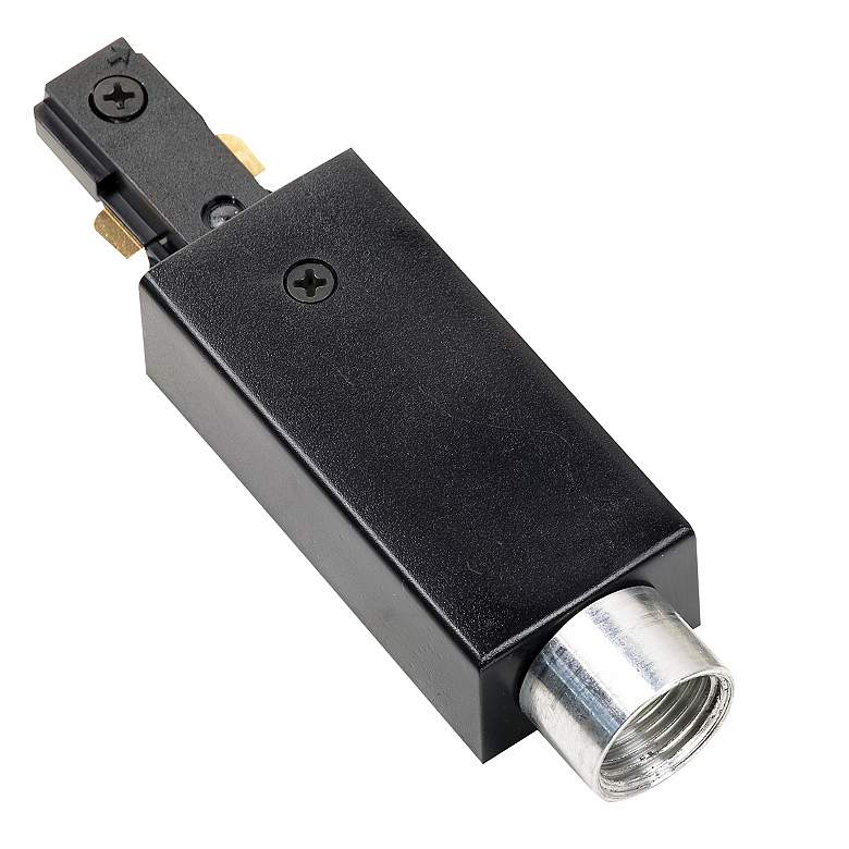 Juno Surface Conduit Adapter in Black