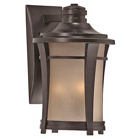 "Harmony 14"" High Imperial Bronze Finish Outdoor Wall Light"