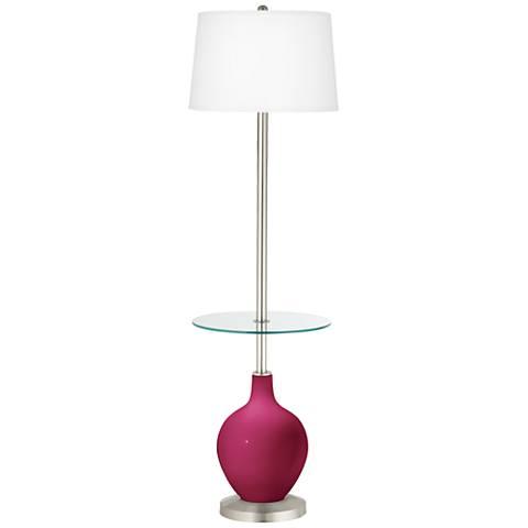 Vivacious Ovo Tray Table Floor Lamp
