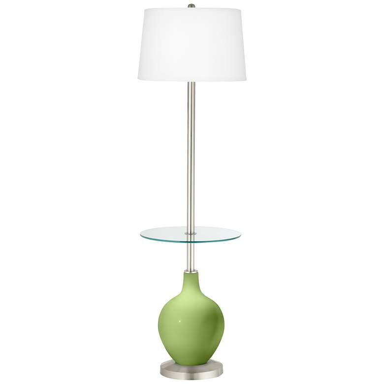 Lime Rickey Ovo Tray Table Floor Lamp