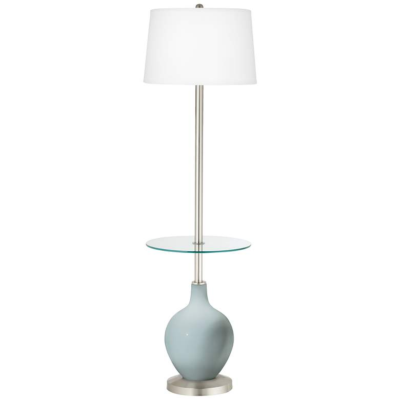 Rain Ovo Tray Table Floor Lamp