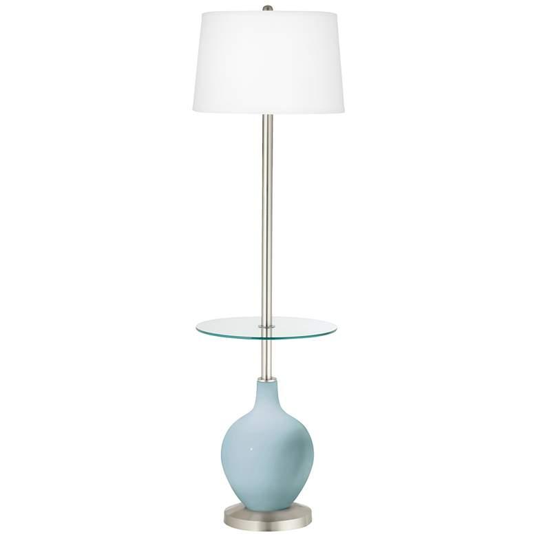 Vast Sky Ovo Tray Table Floor Lamp