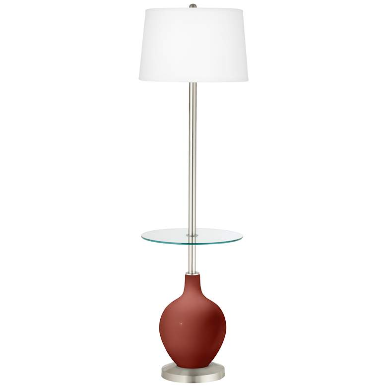 Madeira Ovo Tray Table Floor Lamp