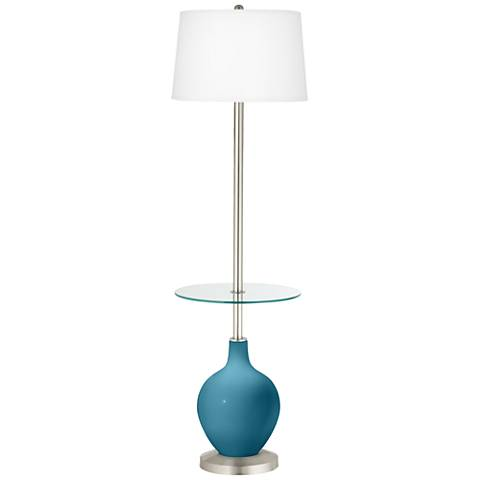 Great Falls Ovo Tray Table Floor Lamp