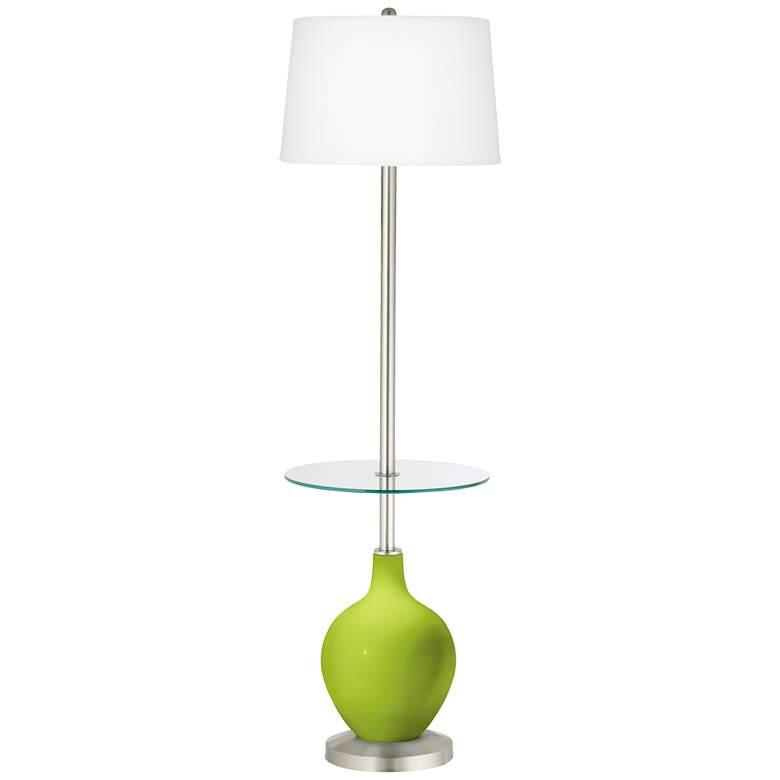 Tender Shoots Ovo Tray Table Floor Lamp