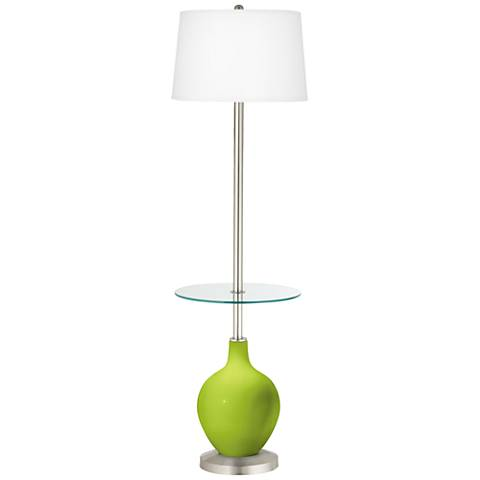 Tender Shoots Ovo Tray Table Floor Lamp
