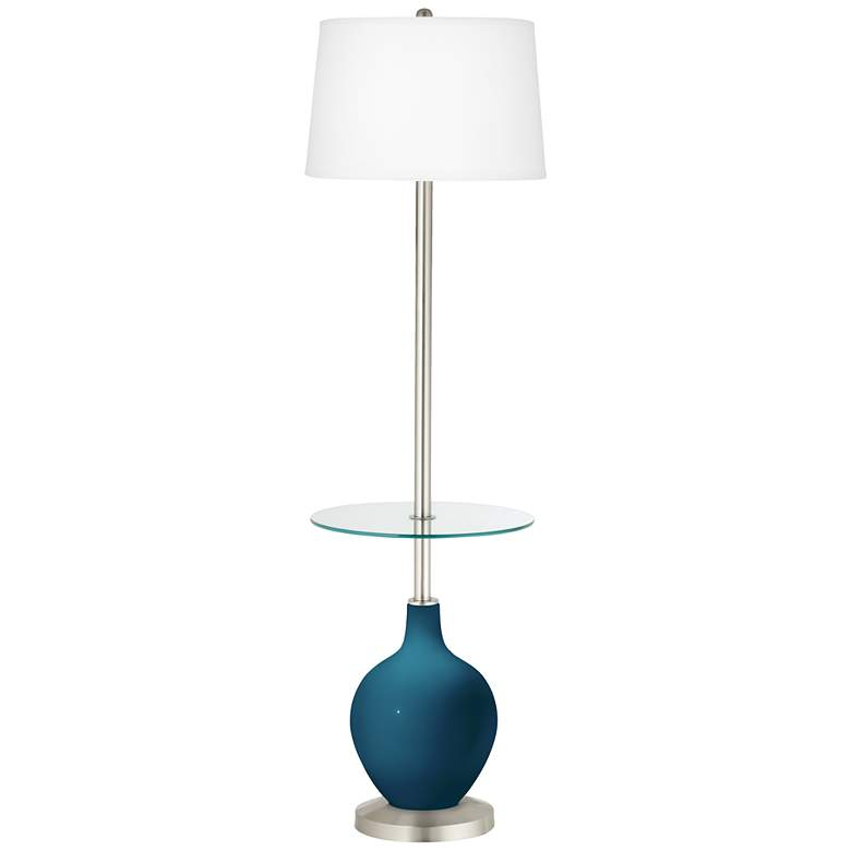 Oceanside Ovo Tray Table Floor Lamp