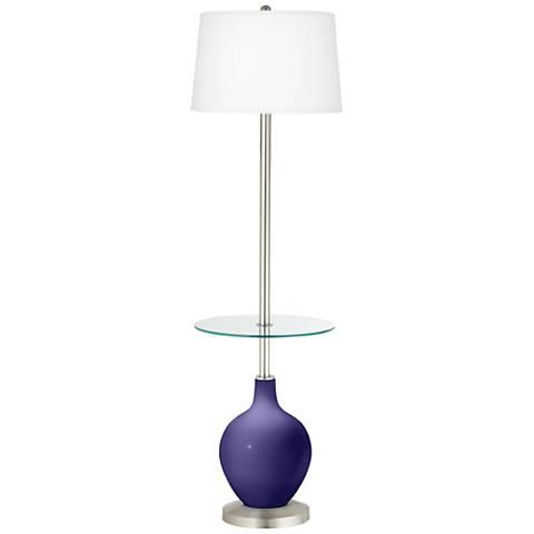 Valiant Violet Ovo Tray Table Floor Lamp