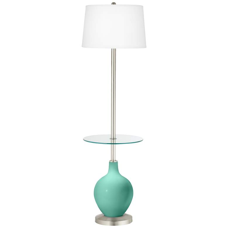Larchmere Ovo Tray Table Floor Lamp