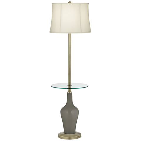Gauntlet Gray Anya Tray Table Floor Lamp