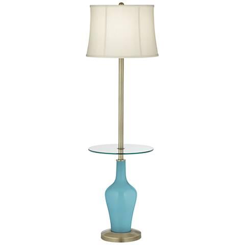 Nautilus Anya Tray Table Floor Lamp
