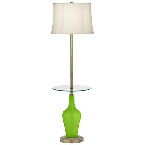 Neon Green Anya Tray Table Floor Lamp