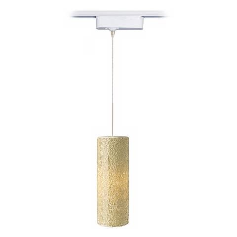 Veil Latte Glass Tech Track Pendant for Juno Track Systems