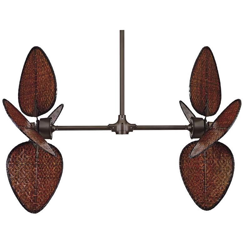 Fanimation Palisade Oil-Rubbed Bronze Double Ceiling Fan