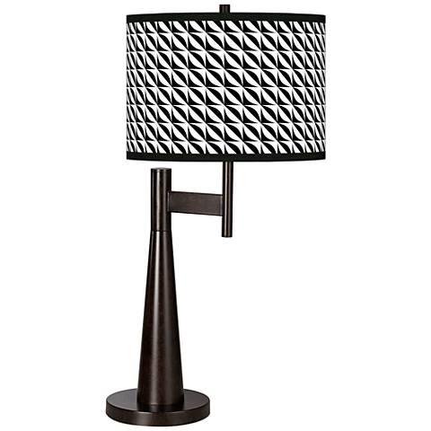 Waves Giclee Novo Table Lamp