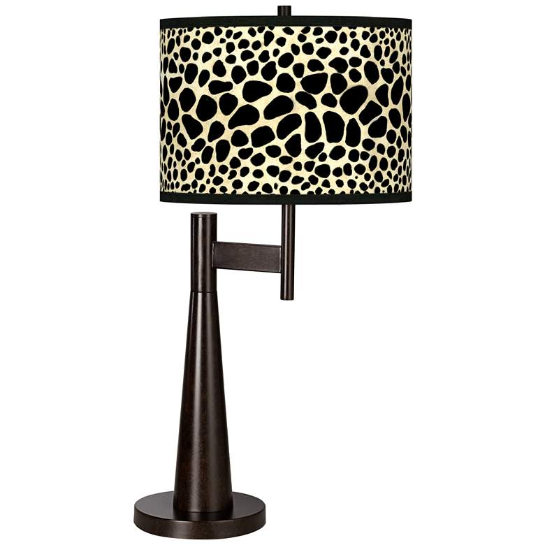 Leopard Giclee Novo Table Lamp