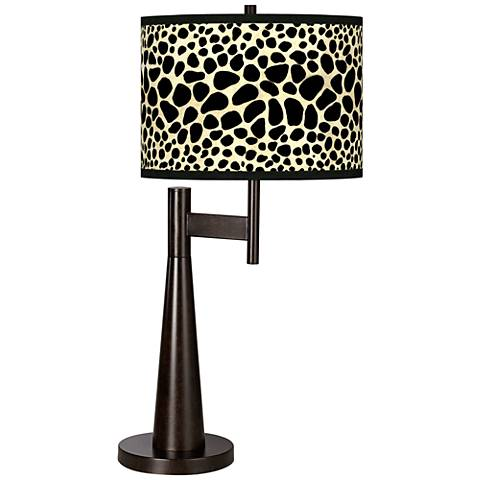 Leopard Giclee Novo Table Lamp