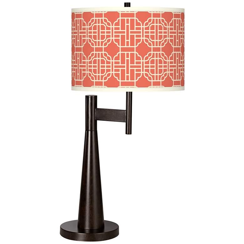 Mandarin Giclee Novo Table Lamp