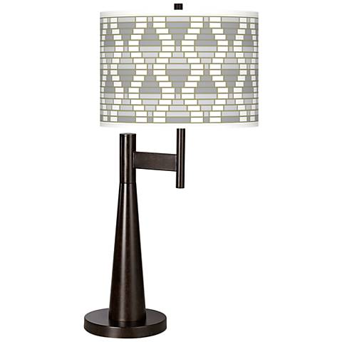 Stepping Out Giclee Novo Table Lamp