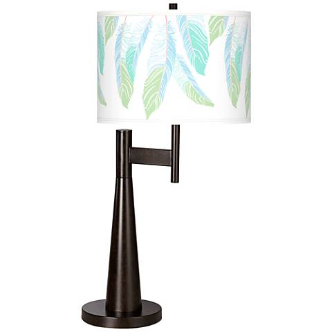 Light as a Feather Giclee Novo Table Lamp