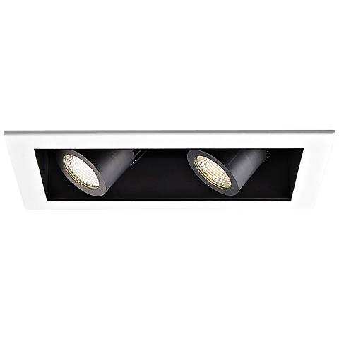 WAC 20 Degree 2700K LED Recessed Housing Double Spot Light
