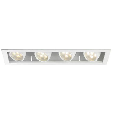 WAC LEDme®  10 Degree 4-Light Recessed Trim with Housing