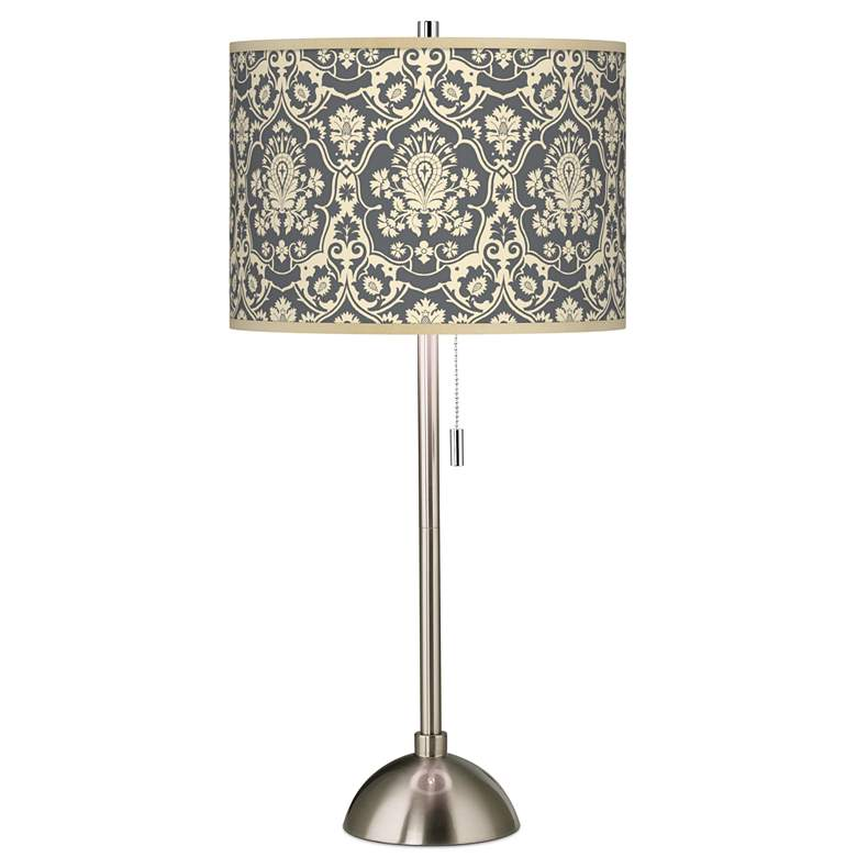 Seedling by thomaspaul Damask Brushed Nickel Table Lamp