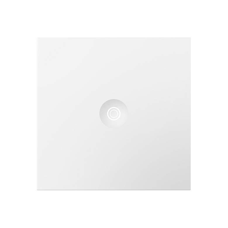 adorne® White 15A Push Switch with Status Light