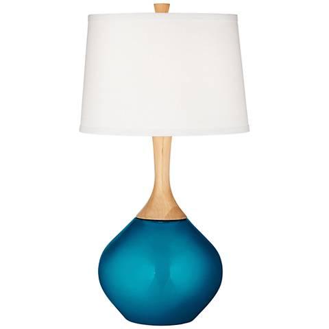 Turquoise Metallic Wexler Table Lamp