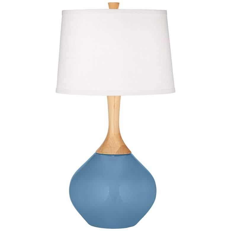 Secure Blue Wexler Table Lamp