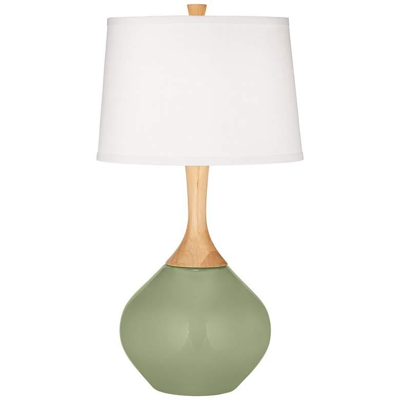 Majolica Green Wexler Table Lamp