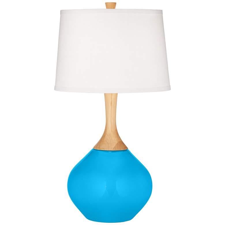 Wexler Sky Blue Modern Table Lamp