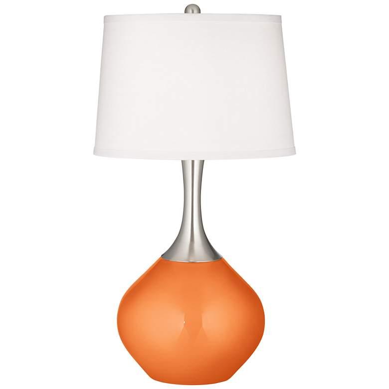 Burnt Orange Metallic Spencer Table Lamp