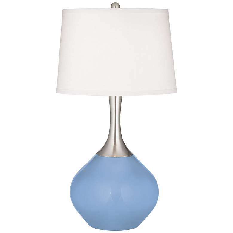 Placid Blue Spencer Table Lamp