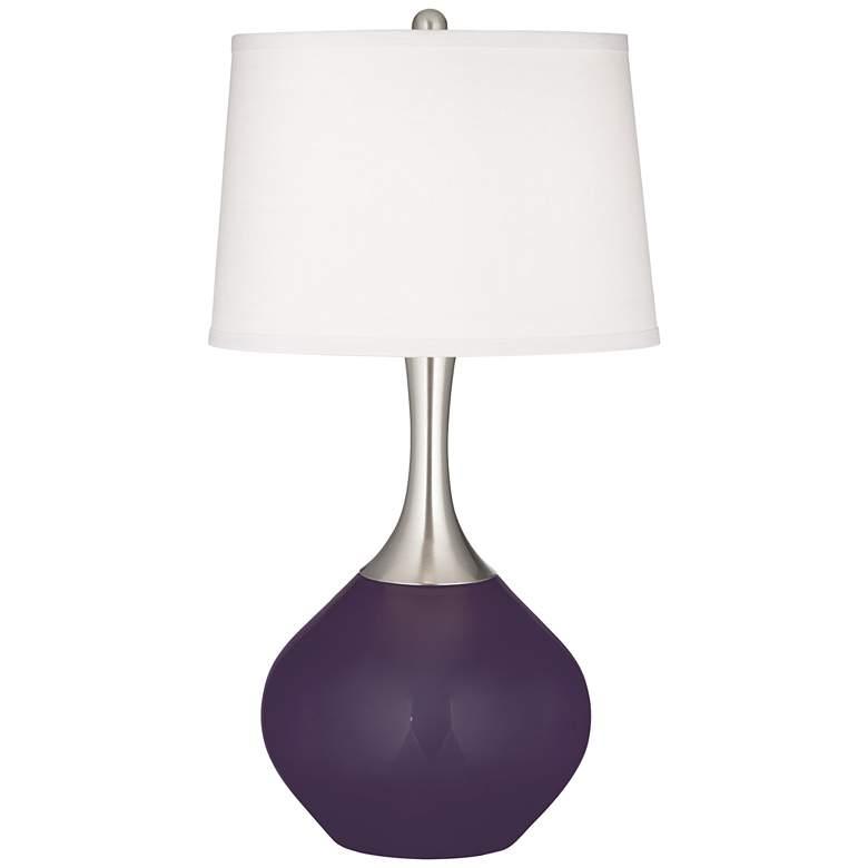 Quixotic Plum Spencer Table Lamp