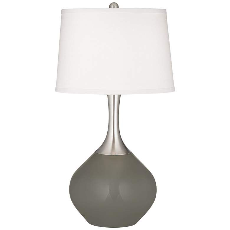 Gauntlet Gray Spencer Table Lamp