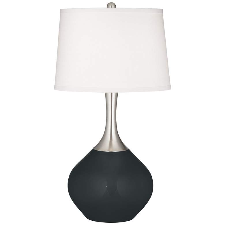 Black of Night Spencer Table Lamp