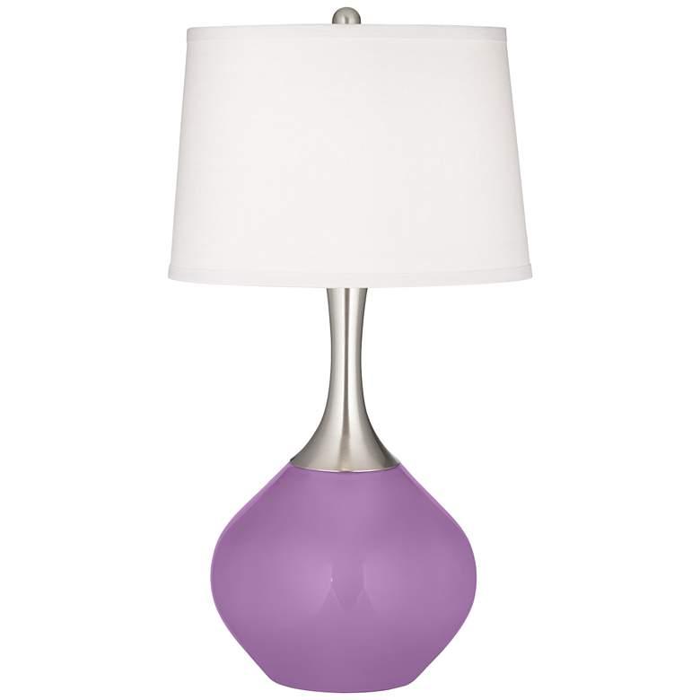 African Violet Spencer Table Lamp