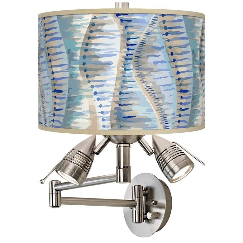 Siren Giclee Plug-In Swing Arm Wall Lamp