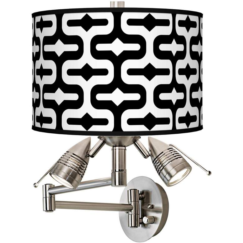 Reflection Giclee Plug-In Swing Arm Wall Lamp