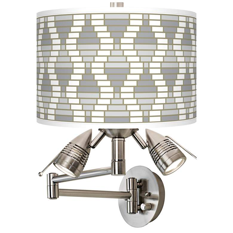 Stepping Out Giclee Swing Arm Wall Light