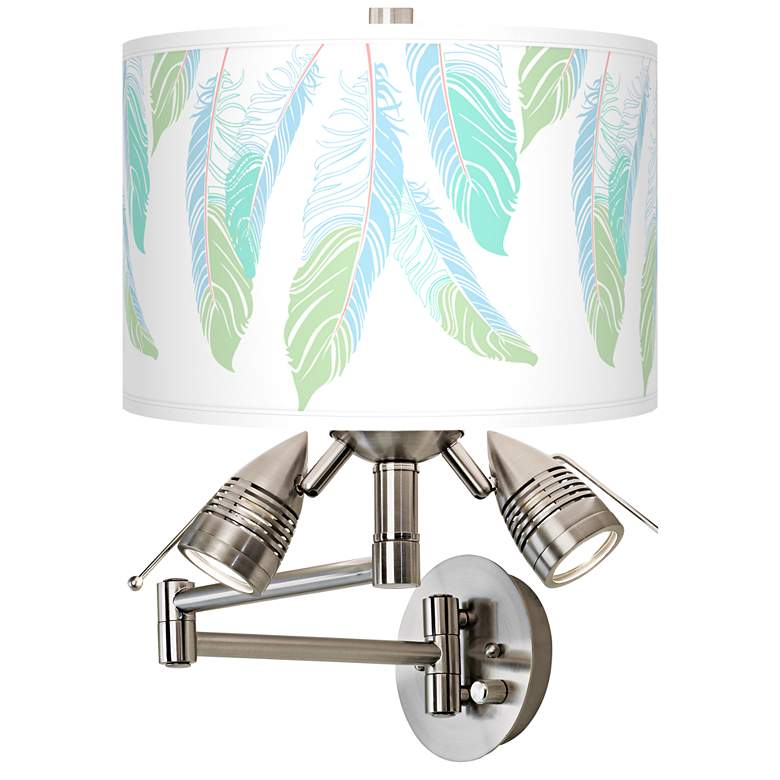 Light as a Feather Giclee Swing Arm Wall Light