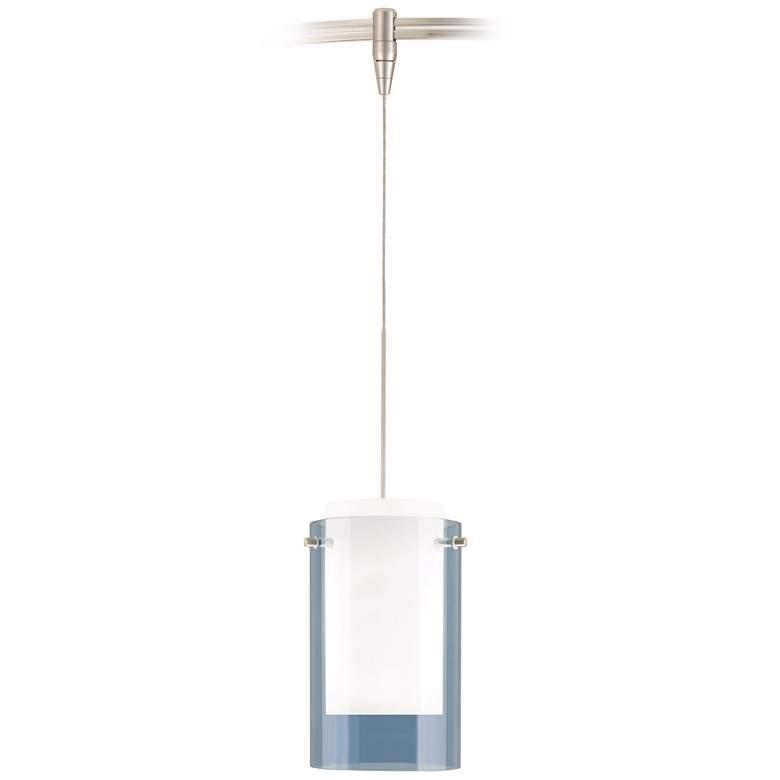 Echo Steel Blue Satin Nickel Tech Lighting MonoRail Pendant